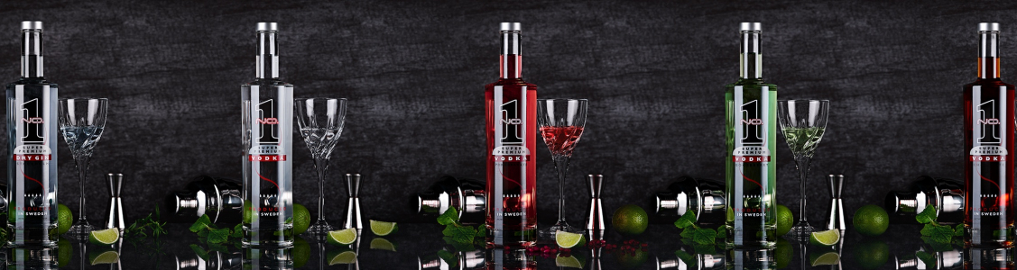 butelki vodka premium NO.1