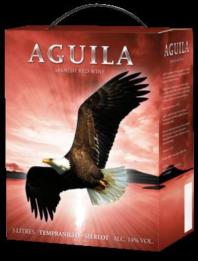 Aguila Temranillo Merlot – wino czerwone wytrawne 3L