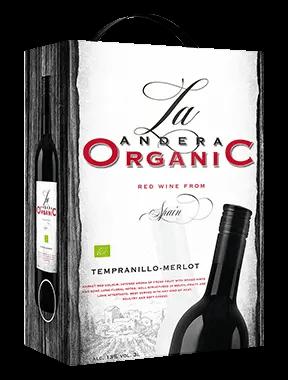 La Andrea Organic Tempranillo Merlot – wino czerwone wytrawne 3L
