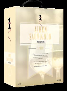 NO.1 Airen Sauvignon – wino białe wytrawne 3L