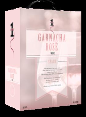 NO.1 Garnacha Rose – wino różowe półwytrawne 3L