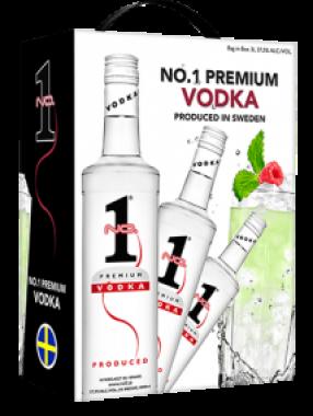 Wódka No.1 Premium 3L