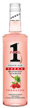 Wódka Premium Malina/Rabarbar